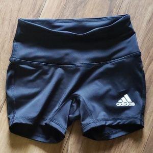 Adidas new spandex shorts xs